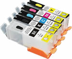 Empty Refillable Ink Cartridge For Canon Pixma IP7250