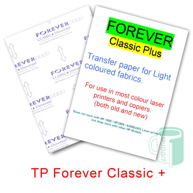 Forever Classic heat transfer paper